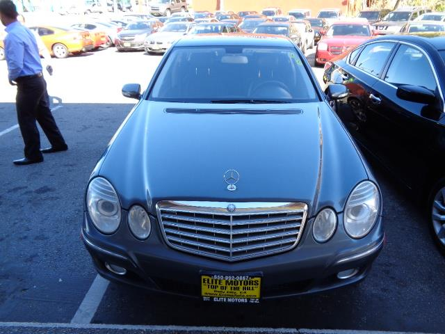 2007 MERCEDES-BENZ E-CLASS E350 4DR SEDAN steel grey metallic navigation heated seats grille colo