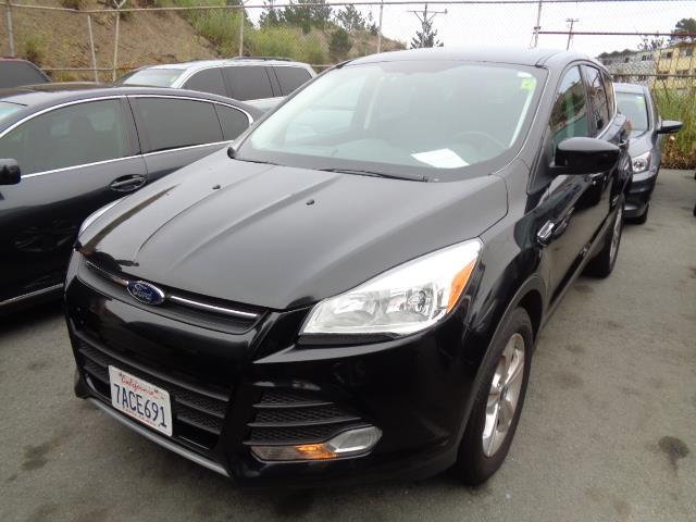 2013 FORD ESCAPE SE AWD 4DR SUV black rear spoiler - rooflinedoor handle color - body-colorexha