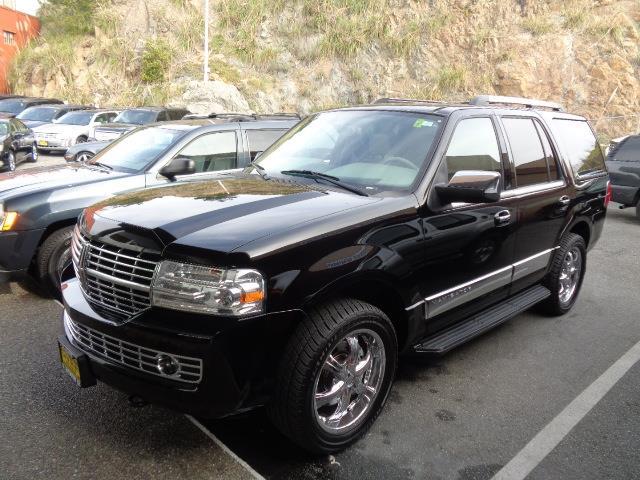 2007 LINCOLN NAVIGATOR LUXURY 4DR SUV 4WD black running boards - stepfront license plate bracket