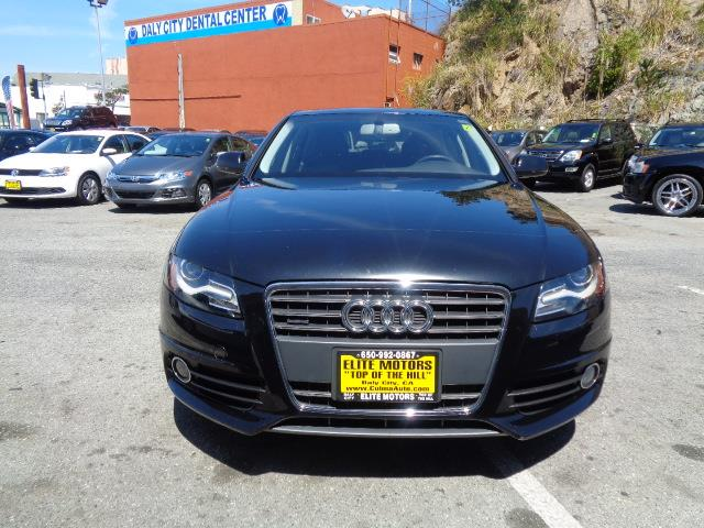 2012 AUDI A4 20T QUATTRO PREMIUM PLUS AWD 4D black granite metallic navigation s line  awd le