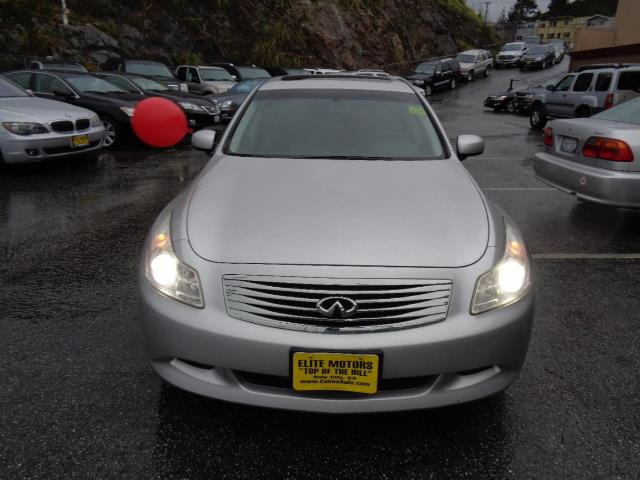 2008 INFINITI G35 S SEDAN liquid silver sport package technology package navigation heated seat