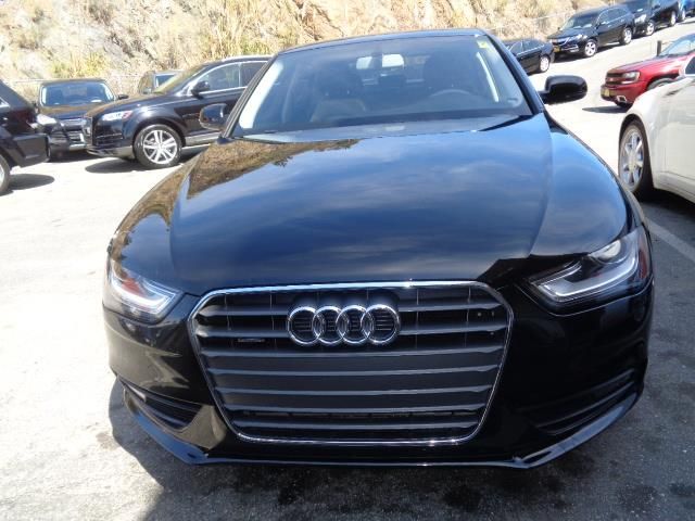 2013 AUDI A4 20T QUATTRO PREMIUM AWD 4DR SED black door handle color - body-colorexhaust - dual