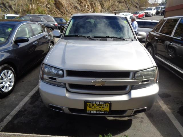 2007 CHEVROLET TRAILBLAZER SS silverstone metallic 3ss with navigation dvd moon roof leather