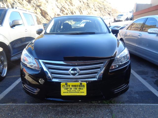 2014 NISSAN SENTRA S SEDAN 4D black 1 8 l liter inline 4 cylinder dohc engine with variable valve
