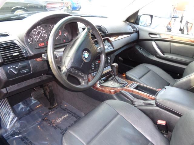 2005 BMW X5 30I AWD 4DR SUV jet black rear spoilercenter console trim - wooddash trim - wooddo