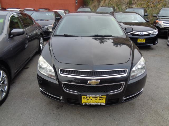 2008 CHEVROLET MALIBU LT 4DR SEDAN W1LT black granite metallic leather seats door handle color -