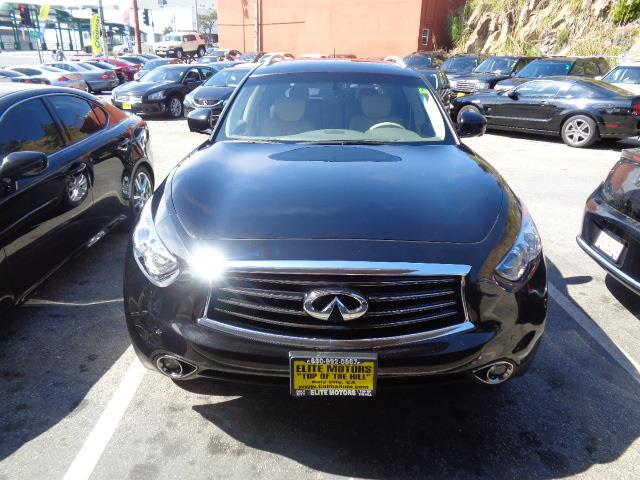2013 INFINITI FX37 FX37 black navigation heated seats backup camera 47641 miles VIN JN8CS1M