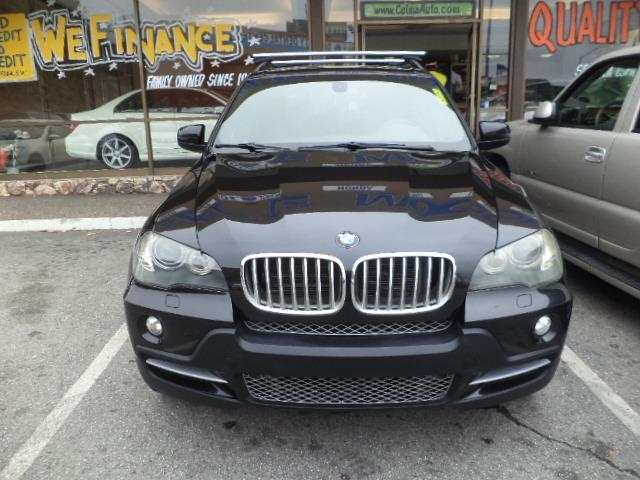 2007 BMW X5 48I AWD 4DR SUV black sapphire 3rd row seat sport package heated seats rear spoiler