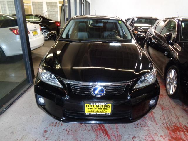 2012 LEXUS CT 200H HATCHBACK black navigation heated seats backup camera bluetooth 35036 mil