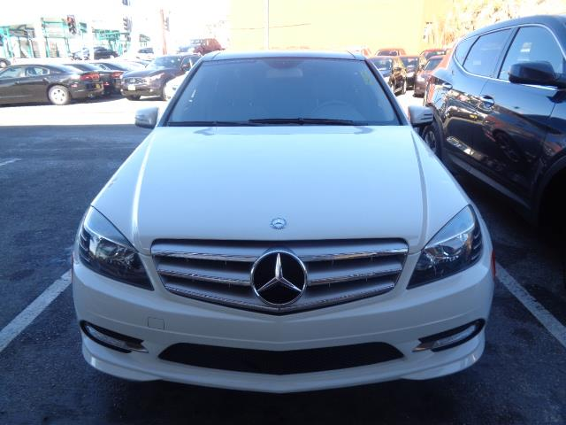 2011 MERCEDES-BENZ C-CLASS C350 SPORT 4DR SEDAN white navigation back up camera panoramic roof