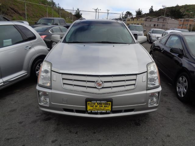 2006 CADILLAC SRX BASE 4DR SUV silver navigation panorama roof heated seats floor mat material -