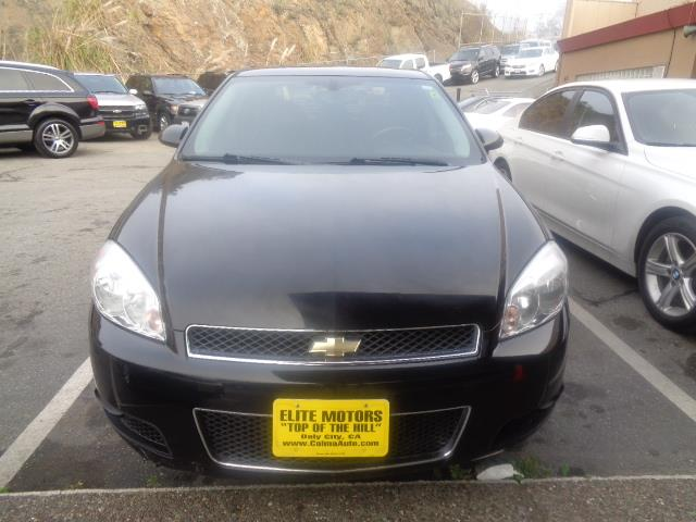 2008 CHEVROLET IMPALA SS 4DR SEDAN black leather child safety door locks power door locks vehic