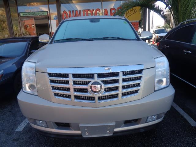 2007 CADILLAC ESCALADE ESV BASE AWD 4DR SUV gold navigation moon roof back up camera dvd 3rd