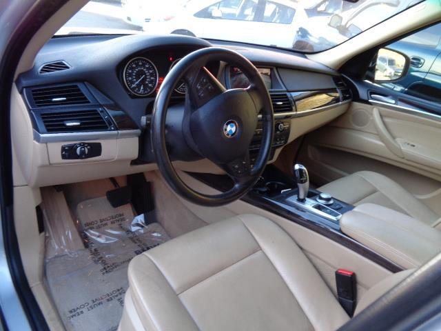 2007 BMW X5 30SI AWD 4DR SUV titanium silver rear spoilerrunning boardsdark bamboo wood trimda