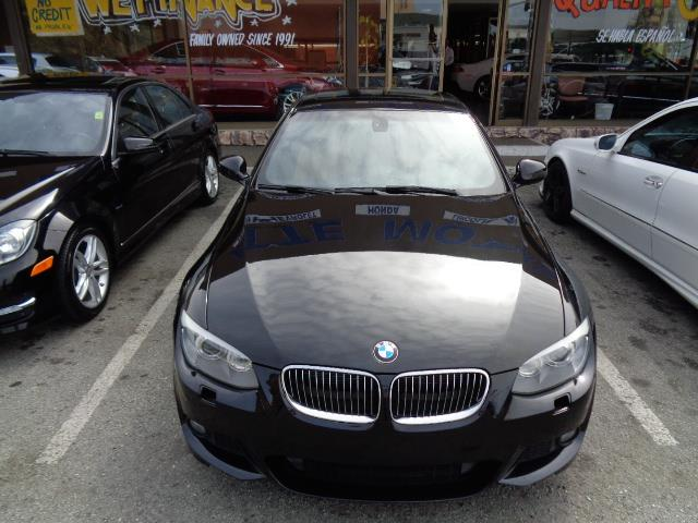 2012 BMW 3 SERIES 335I 2DR COUPE black sapphire metallic sport package premium package navigatio