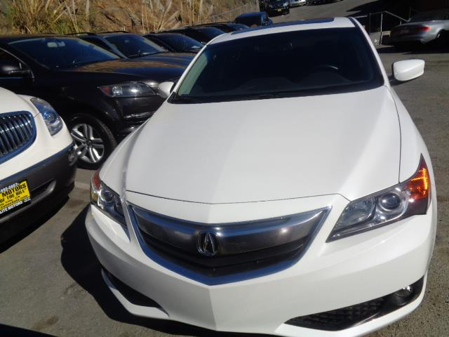 2014 ACURA ILX 24L WPREMIUM 4DR SEDAN PACKAGE pearl white rare 6 speed tech package bumper col
