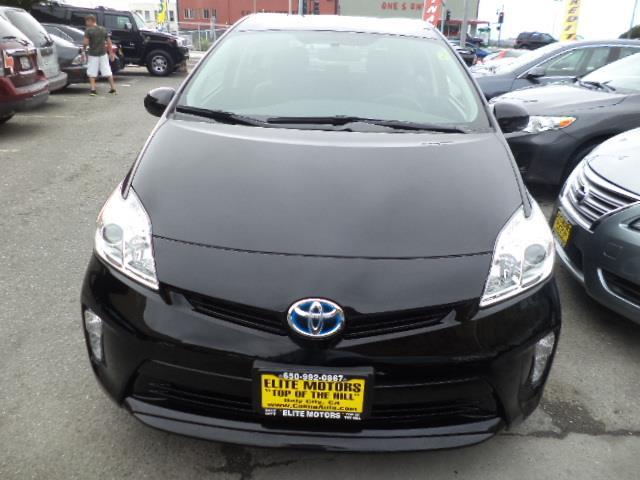 2013 TOYOTA PRIUS TWO HATCHBACK black one owner factory warranty great mpg 24138 miles VIN J