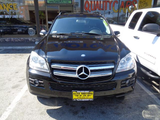 2008 MERCEDES-BENZ GL-CLASS GL450 AWD 4MATIC 4DR SUV black air filtration - active charcoalcente