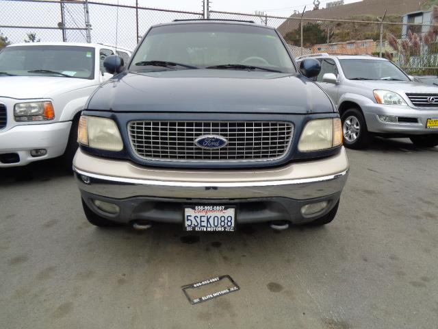 1999 FORD EXPEDITION blue 156980 miles VIN 1FMPU18L3XLA95908