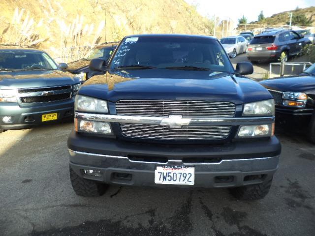 2005 CHEVROLET SILVERADO 1500 LS PICKUP 4D 5 34 FT midnight blue awesome lifted silverado 1161