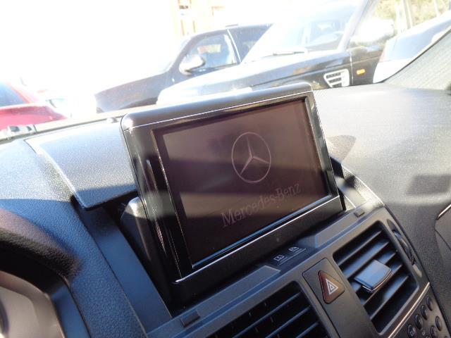 2011 MERCEDES-BENZ C-CLASS C300 SPORT SEDAN black navigation sport package 82635 miles VIN WD