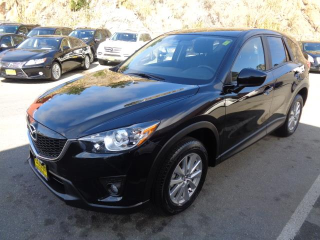 2015 MAZDA CX-5 TOURING AWD 4DR SUV black exhaust tip color - metallicrear spoiler - rooflinedo