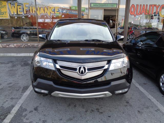 2007 ACURA MDX BASE WTECH WRES AWD 4DR SUV W formal black navigation heated seats backup came