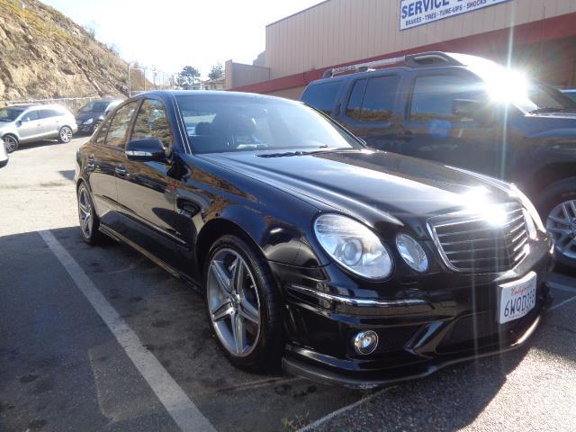 2007 MERCEDES-BENZ E-CLASS E63 AMG 4DR SEDAN black abs 4-wheel air conditioning am fm stereo c