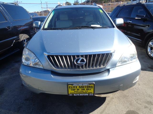 2008 LEXUS RX 350 BASE 4DR SUV blue child safety door locks power door locks vehicle anti-theft