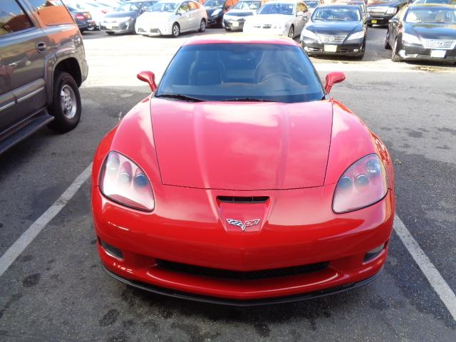 2007 CHEVROLET CORVETTE Z06 COUPE victory red 1-owner navigation heated seats 47093 miles VIN