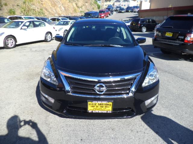 2013 NISSAN ALTIMA 25 S 4DR SEDAN black door handle color - chromeexhaust - dual exhaust tipse