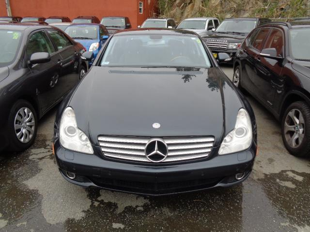 2006 MERCEDES-BENZ CLS-CLASS CLS500 4DR SEDAN black opal keyless go push button start navigation