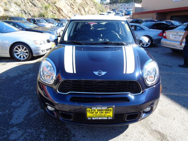 2012 MINI COOPER COUNTRYMAN S ALL4 AWD 4DR CROSSOVER cosmic blue navigation leather panoramic ro
