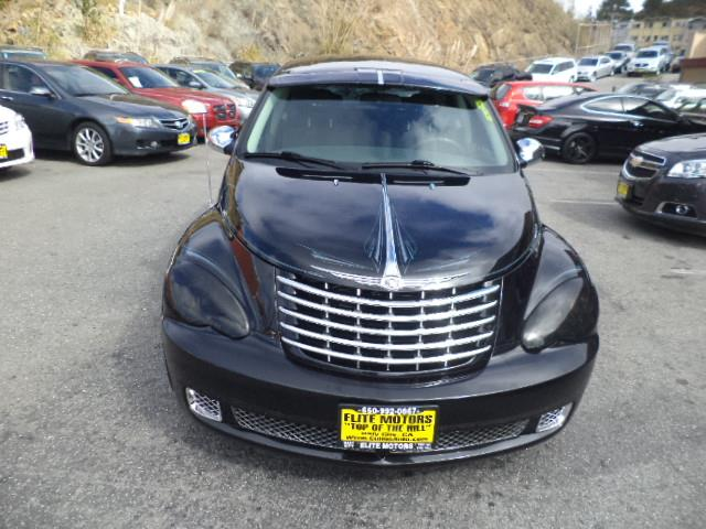 2008 CHRYSLER PT CRUISER BASE 4DR WAGON brilliant black crystal pearlc california concepts special
