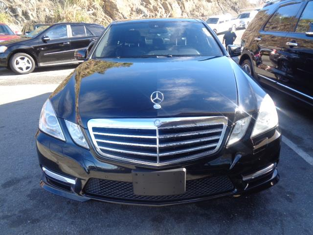 2012 MERCEDES-BENZ E-CLASS E350 4MATIC SEDAN black leather navigation panorama roof back up ca