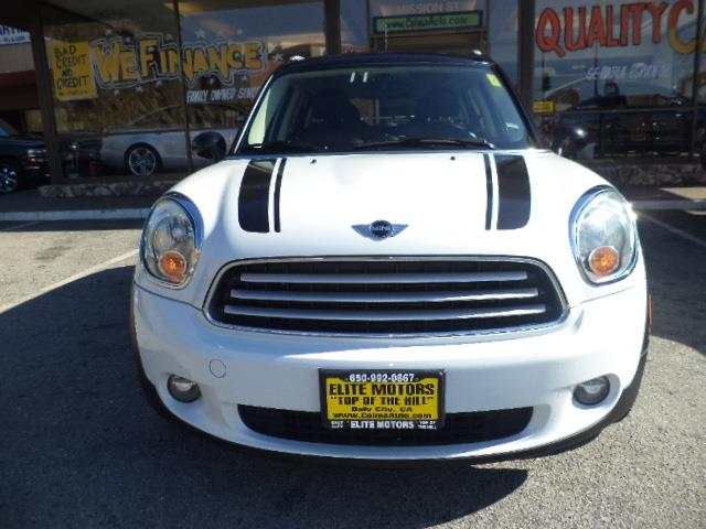 2012 MINI COOPER COUNTRYMAN BASE 4DR CROSSOVER light white 2632 mpg factory warranty 4 doors ab