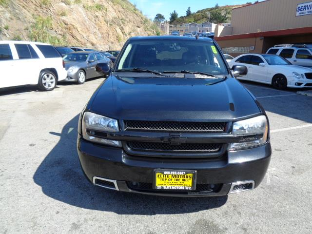 2008 CHEVROLET TRAILBLAZER SS black granite metallic 3ss 22 inch trailblazer ss wheels awd nav