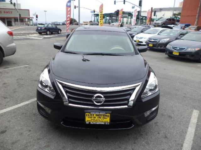 2013 NISSAN ALTIMA 25 SV SEDAN black lemon law buyback due to power steering pump very low milea