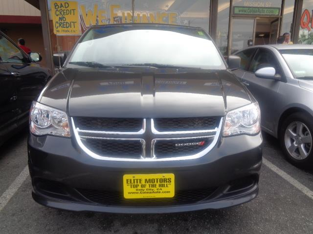 2012 DODGE GRAND CARAVAN SE 4DR MINI VAN gray front wheel drive power steering steel wheels wh