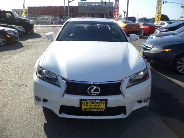 2013 LEXUS GS 350 BASE 4DR SEDAN pearl white one owner lease in brand new condition factory warra