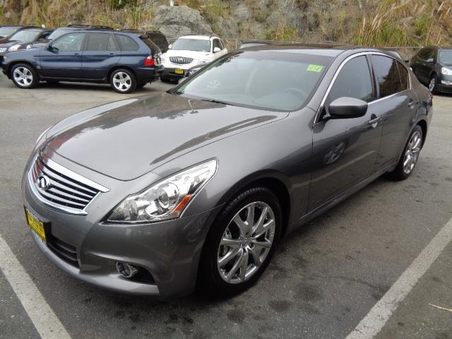 2012 INFINITI G37 SEDAN SPORT 4DR SEDAN graphite shadow 6 speed manual bumper color - body-colord