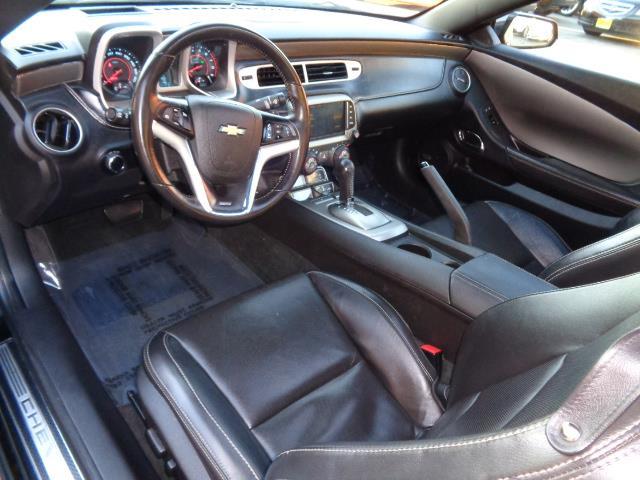 2013 CHEVROLET CAMARO SS 2DR COUPE W2SS black 2ss navigation heated seats backup camera xenon