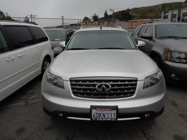 2008 INFINITI FX35 BASE AWD 4DR SUV brilliant silver grille color - chromemirror color - body-col