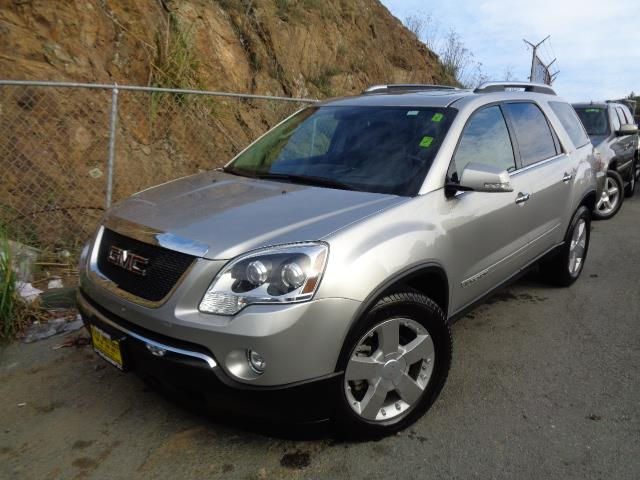 2007 GMC ACADIA SLT-2 AWD 4DR SUV silver navigation dvd backup camera 3rd row seat heated seat