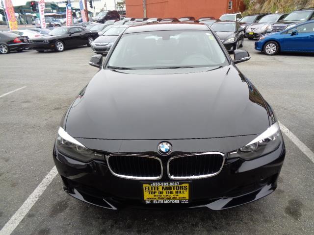 2012 BMW 3 SERIES 328I 4DR SEDAN SULEV black lease return full factory warranty lease return fu