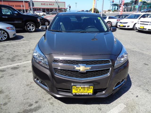2013 CHEVROLET MALIBU LT 4DR SEDAN W2LT mocha brown metallic door handle color - body-colorfron