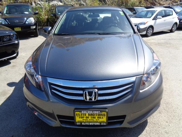 2012 HONDA ACCORD SE 4DR SEDAN graphite grey bumper color - body-colordoor handle color - body-c