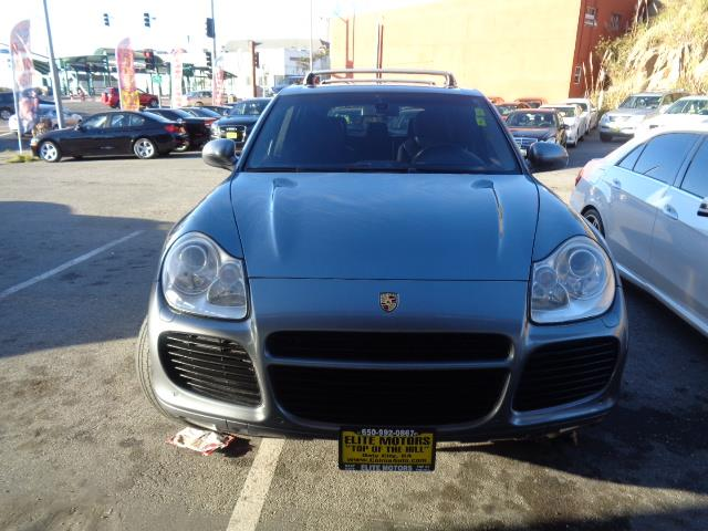 2005 PORSCHE CAYENNE TURBO AWD 4DR SUV grey center console trim - alloy and leatherdash trim - a