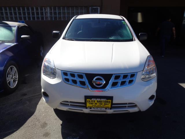 2013 NISSAN ROGUE S AWD 4DR CROSSOVER pearl white rear spoiler - rooflinebody side moldings - ch