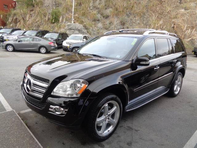 2008 MERCEDES-BENZ GL-CLASS GL550 AWD 4MATIC 4DR SUV black amg wheels dvd system navigation 3rd